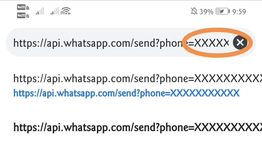 Whatsapp Without saving number
