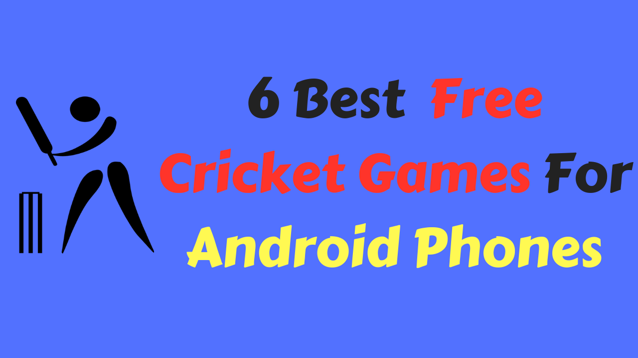 Cricket Games For Android Phones